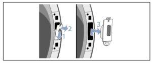 quitar cerradura Cambiar sentido puerta secadora Bosch
