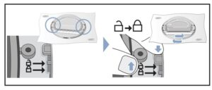 bloquear cristal Cambiar sentido puerta secadora Bosch